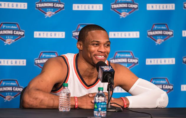 "Russell Westbrook : "" Je dois devenir encore plus efficace """
