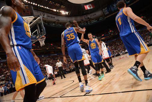 Golden State s'incline en amical face à Toronto pour la première de Kevin Durant