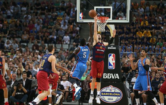 Oklahoma City Thunder s'en sort bien à Barcelone
