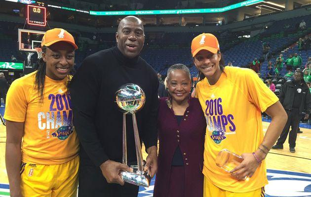 WNBA : Los Angeles remporte le troisième titre de son histoire, Candace Parker élue MVP des Finales