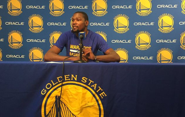 "Kevin Durant : "" On a pris une claque """