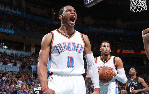Le MVP de la nuit : Russell Westbrook (51 points, 13 rebonds et 10 passes)