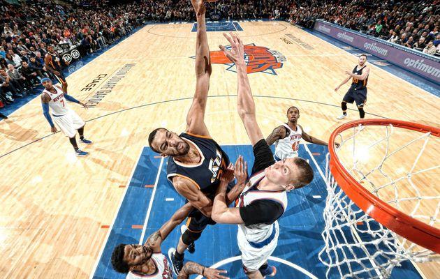Le Jazz maîtrise les Knicks au Madison Square Garden
