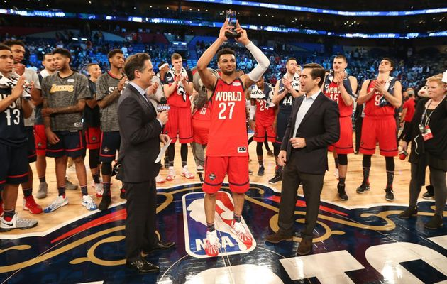NB All-Star Week-end : la Team World bat les USA en Rising Stars Challenge, Jamal Murray élu MVP