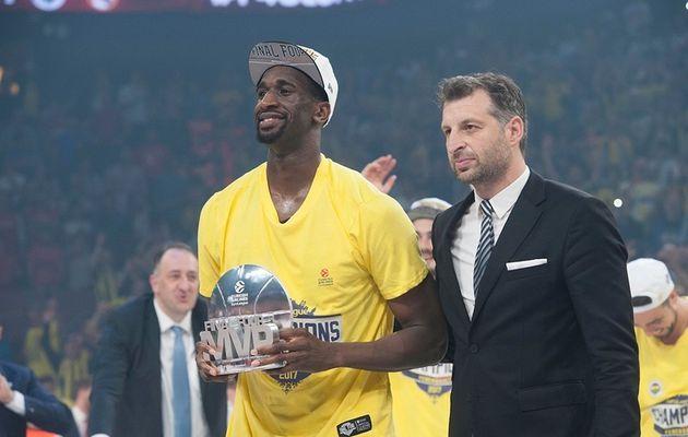 Ekpe Udoh élu MVP du Final Four de l'Euroleague