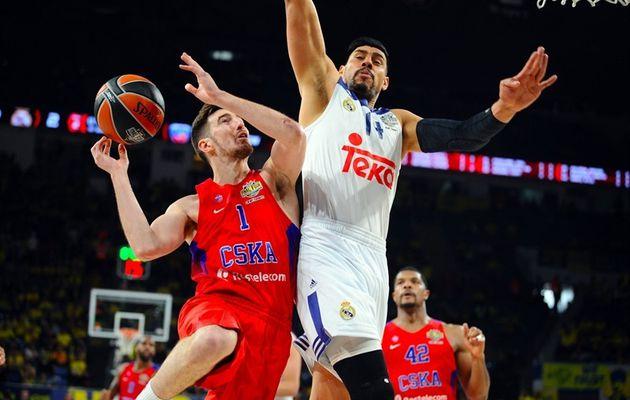 Le CSKA Moscou bat le Real Madrid et termine à la 3e place du Final Four de l'Euroleague