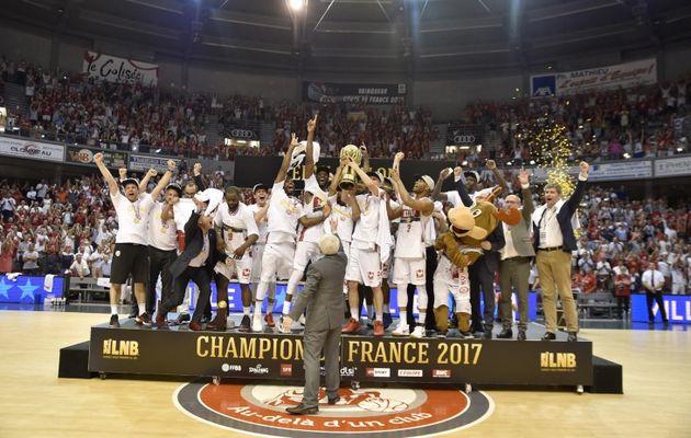 Pro A : Élan Chalon sacré champion de France !
