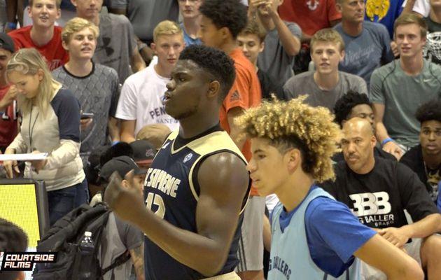 LaMelo Ball - Zion Williamson, le duel de l'année en high school