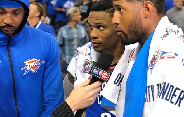 Le Big Three d'OKC n'a fait qu'une bouchée des Knicks