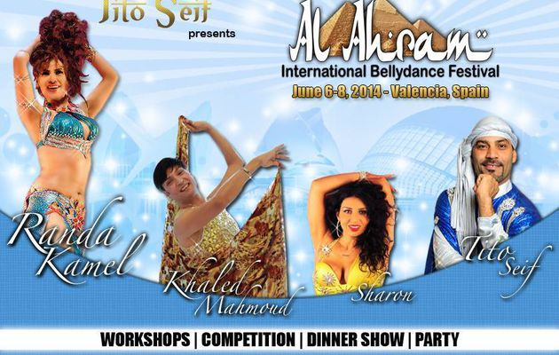 Stages danse orientale / workshops