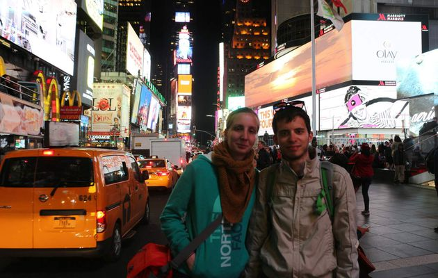 Nos vacances à New York, jour 1, mai 2016