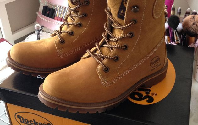 Mes Boots DockerS