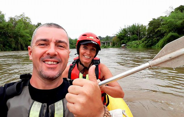 CANOE KAYAK a KANCHANABURI avec SAWADI SAIYOK Jungle Adventure