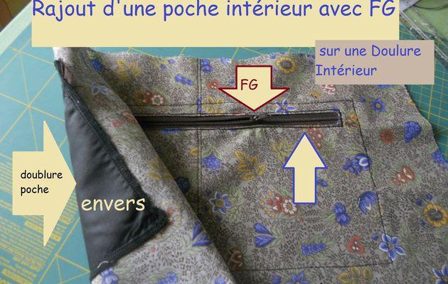Tuto couture : rajout poche intérieur avec FG.