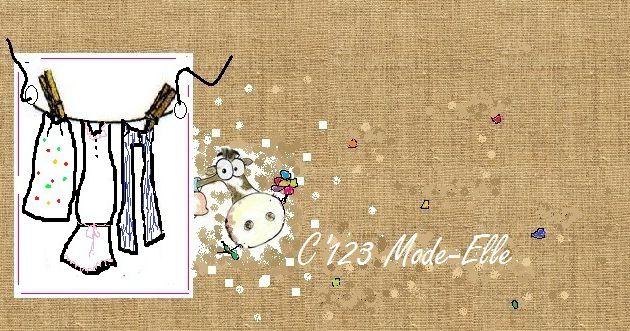 nouveau look pour C'123Mode-Elle, mon autre blog !