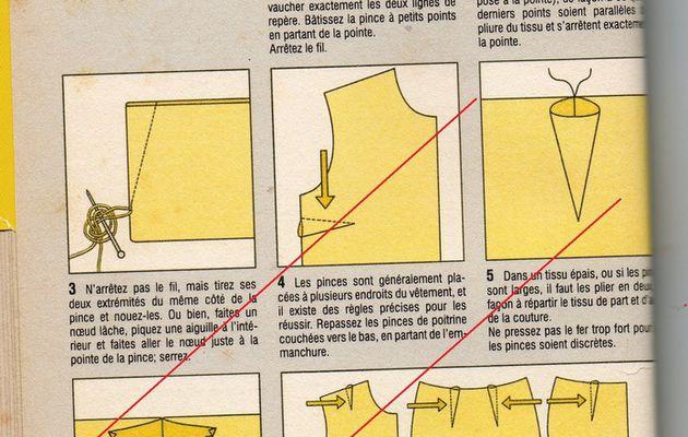 Couture facile : les pinces.