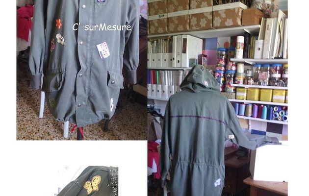 Diy : veste militaire customisée.