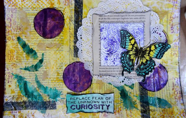 art journal curiosity
