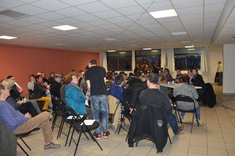 70 personnes venues s'informer autour de la Loi Travail !
