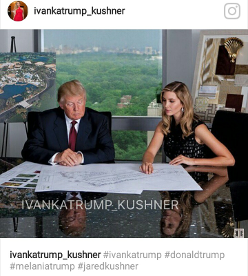Smart and wise Ivanka