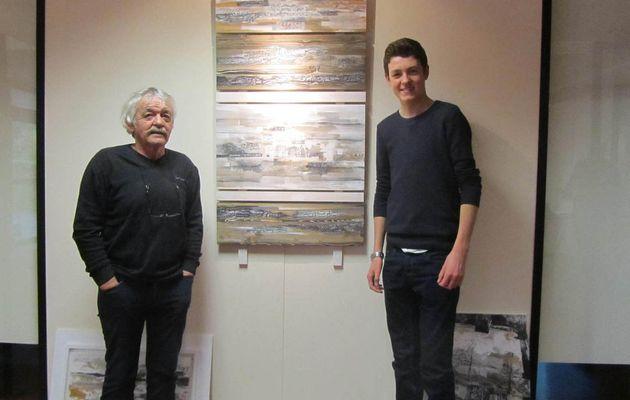Robert Morvan ,50 ans de peinture et toujours jeune!