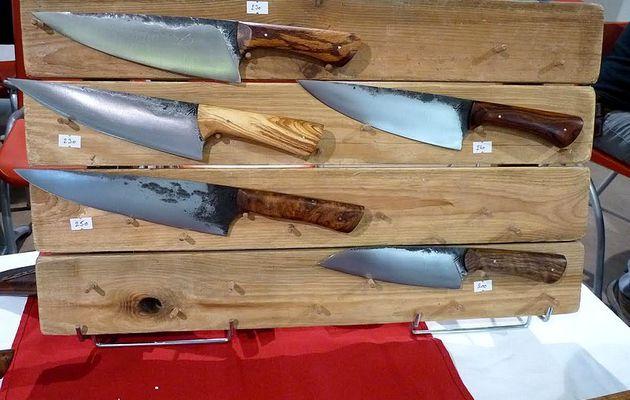 Salon d'Agde : couteaux de la Forge du Serpent