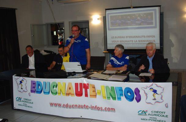 ASSEMBLEE GENERALE de l'Association EDUCNAUTE-INFOS