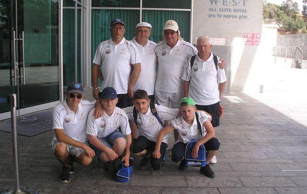 Des EDUCNATIENS en ISRAËL pour le TOURNOI de la MEDITERRANEE
