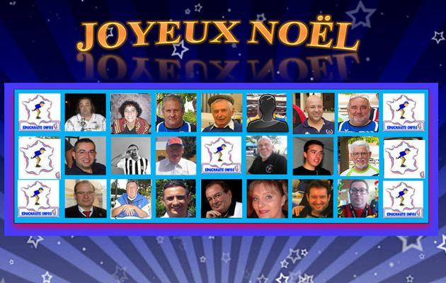 LE BUREAU DE L'ASSOCIATION EDUCNAUTE-INFOS VOUS SOUHAITE UN JOYEUX NOËL