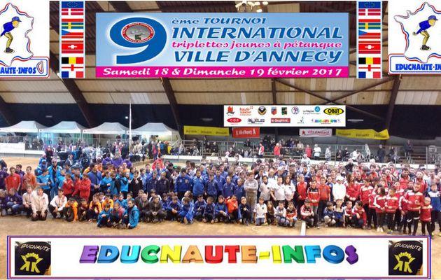 Un Franc Succès pour la première étape du challenge EDUCNAUTE-JEUNES  à ANNECY (74)