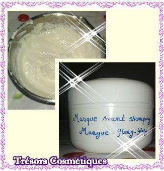 Masque avant shampooing « Mangue / Ylang-Ylang »