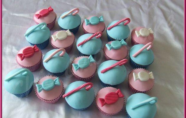 Des cupcakes gourmandises...