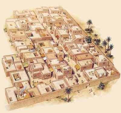 La cité égyptienne dans l'antiquité, la pression démographique... (2) !