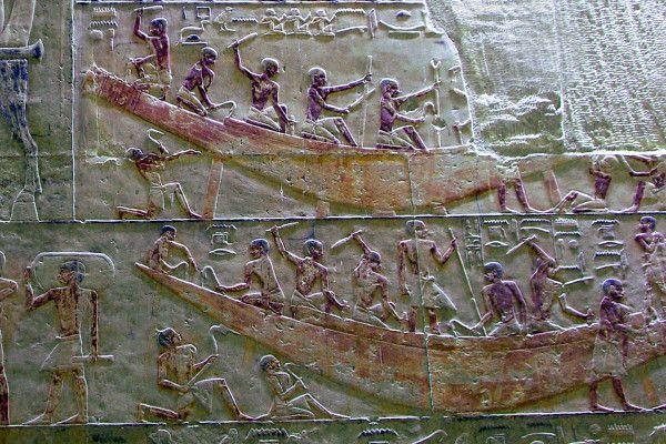 Les ouvriers du pharaon (3), en l'Égypte ancienne !