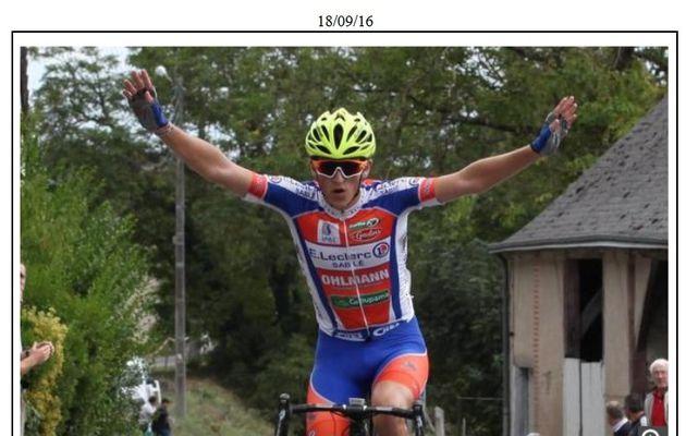 Yann Olhmann vainqueur à Vernou (Indre-et-Loire)