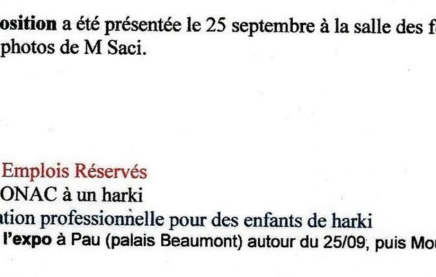 Réunion du groupe de travail des présidents d'associations du comité régional aquitain de concertation