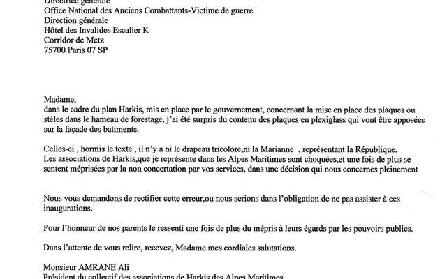 COLLECTIF DES ASSOCIATIONS DE HARKIS DES ALPES-MARITIMES