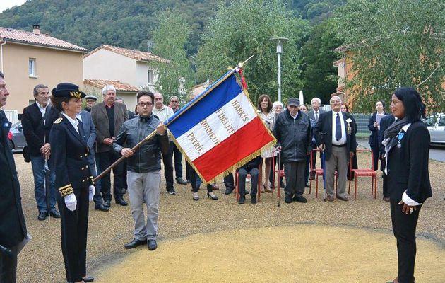 Journée nationale d'Hommage des Harkis, et membres des formations supplétives à Ginabat (09)