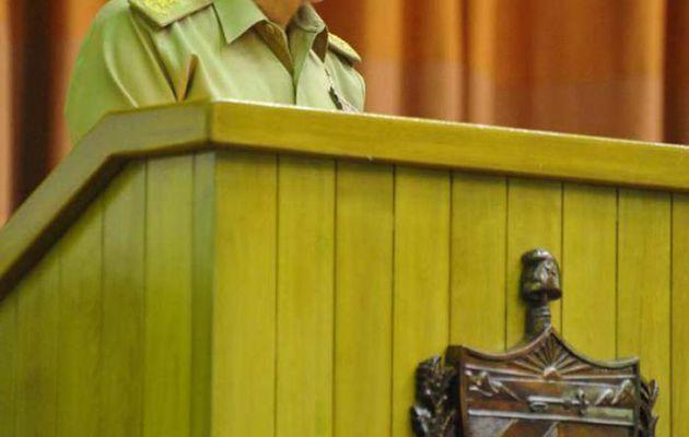 Cuba/USA : rétablissement des relations diplomatiques. Extrait de l'allocution de Raul Castro prononcée le 15 juillet 2015 devant l'Assemblée nationale cubaine.