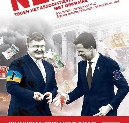 Pays-Bas. Résultat du référendum sur l'accord UE/Ukraine: la population rejette la propagande militariste et le libre-échange néolibéral