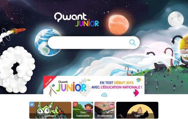 Un moteur de recherche internet dédié aux juniors.