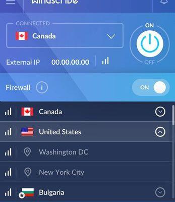 50 Gb de bande passante gratuite avec le VPN Windscribe.