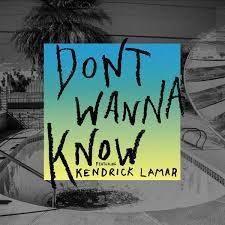 Maroon 5 - Don't Wanna Know (Lazer Remix) ft. Kendrick Lamar