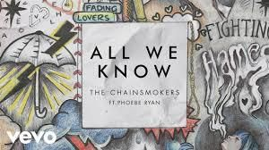 The Chainsmokers Ft. Phoebe Ryan - All We Know (ESH Remix)