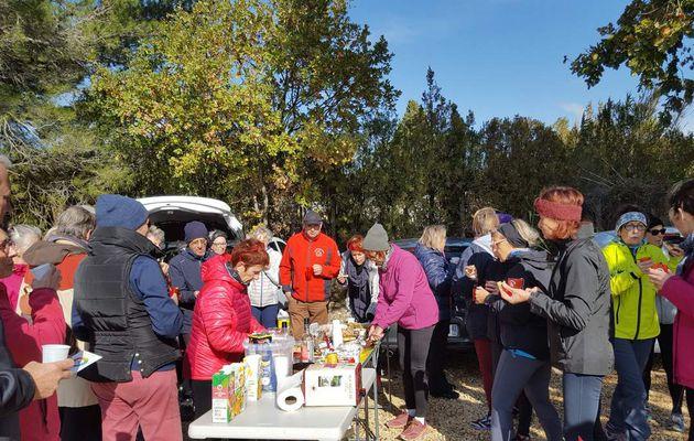 Marche nordique des mardi 07 et samedi 11 novembre