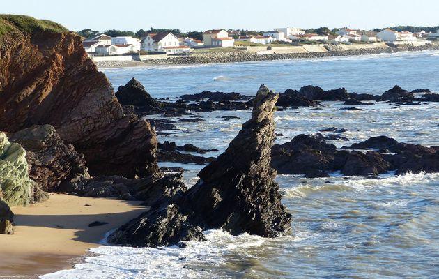 Le rocher de la Sainte Véronique à Bretignolles sur mer