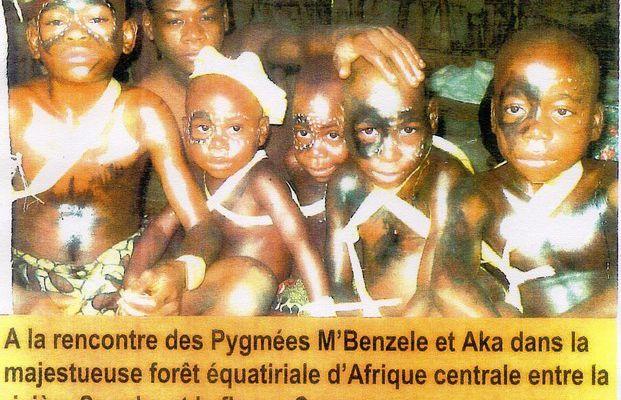Images du monde : les pygmées aux Sables d'olonne