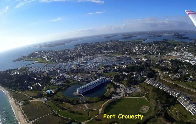 Photos aériennes PORT CROUESTY / MORBIHAN