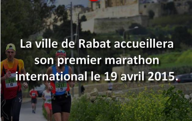Premier marathon International a Rabat en avril !