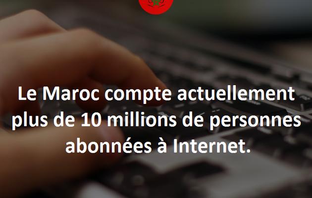 Plus de 10 millions d'abonnés à Internet au Maroc !